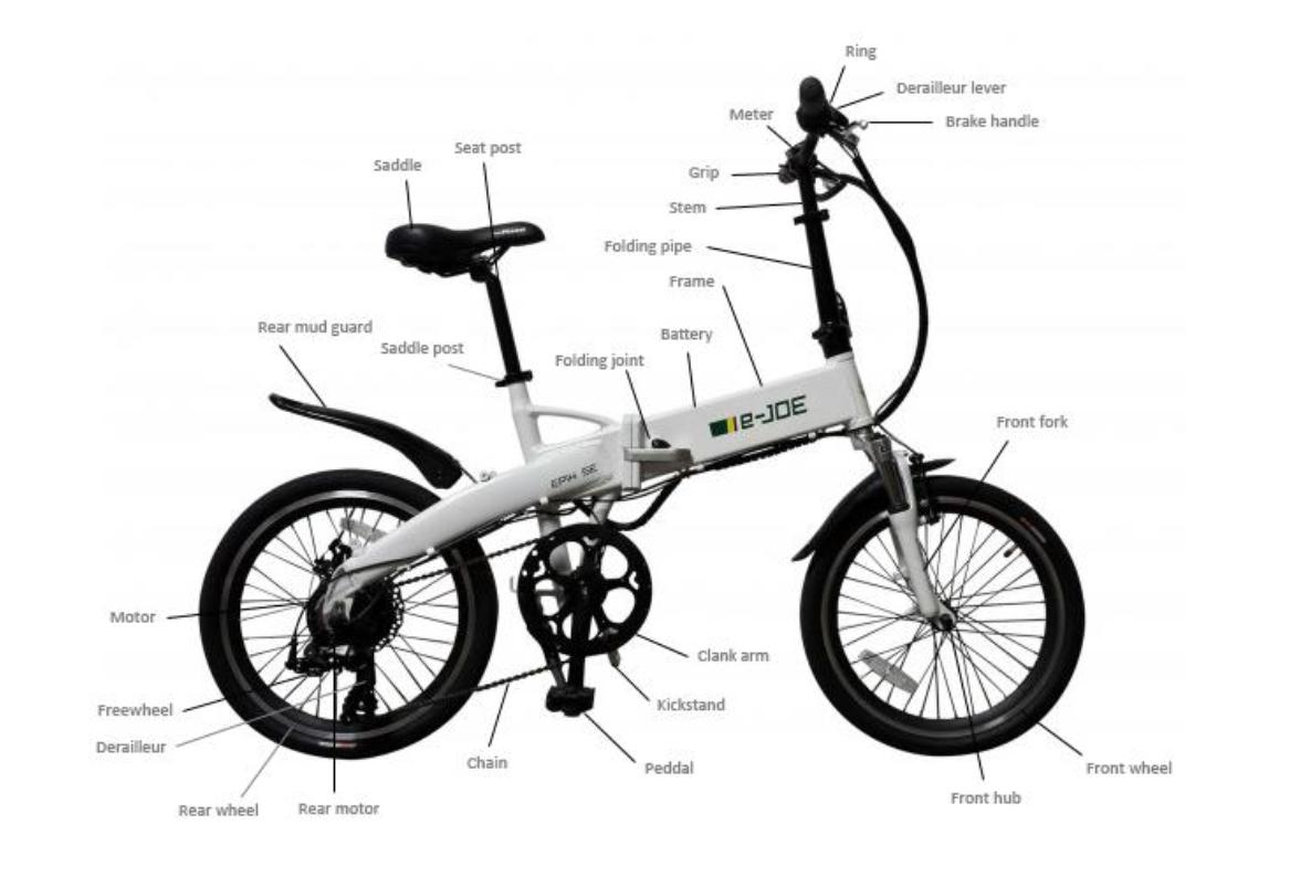E Joe Epik Se A Great Folding Electric Bike Popular With