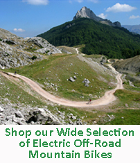 Off-Road Mountain Electric Bikes