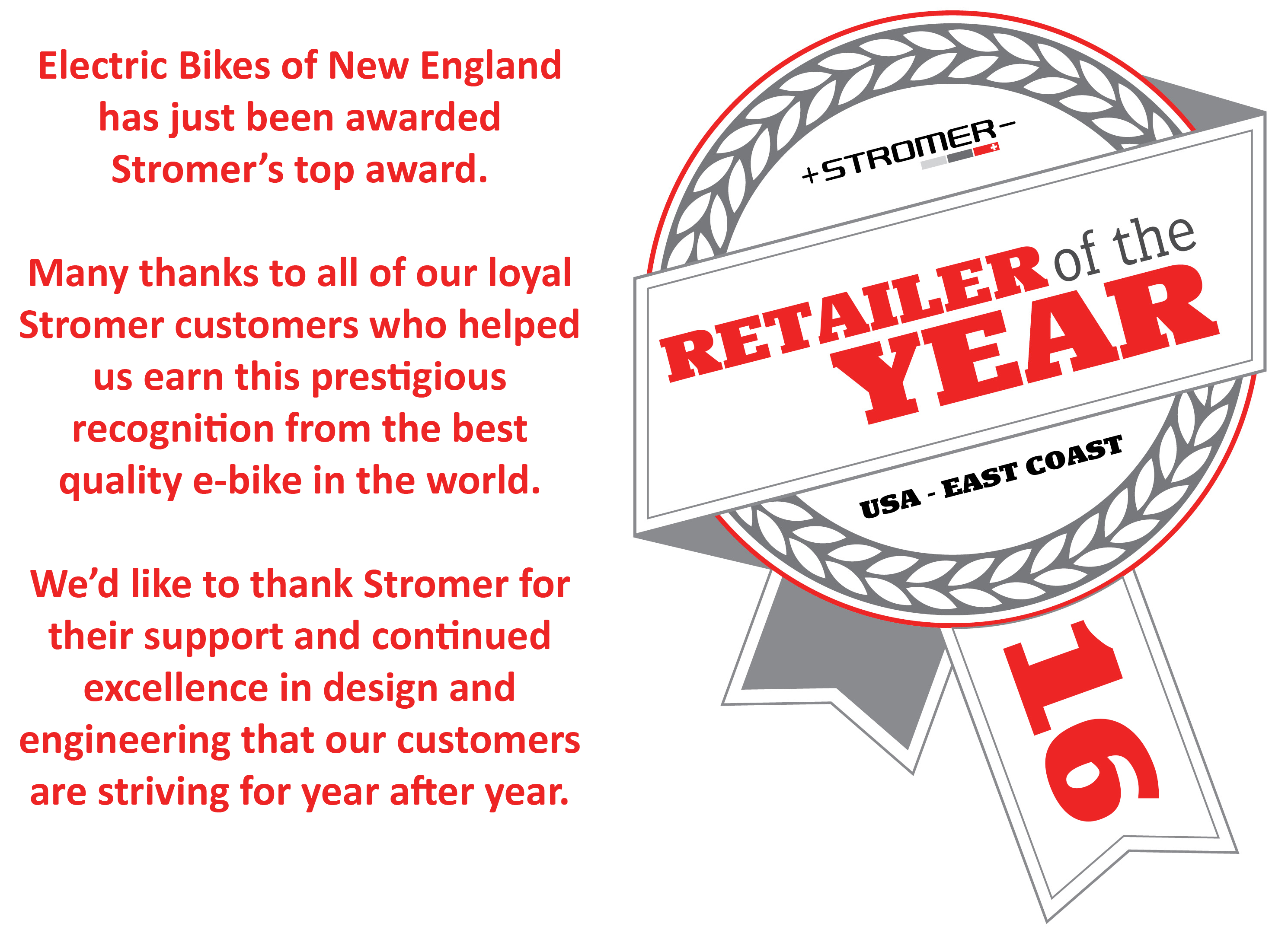 Stromer Retailer of the Year