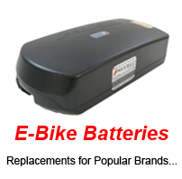 Replacement Batteriesfor Electric Bikes