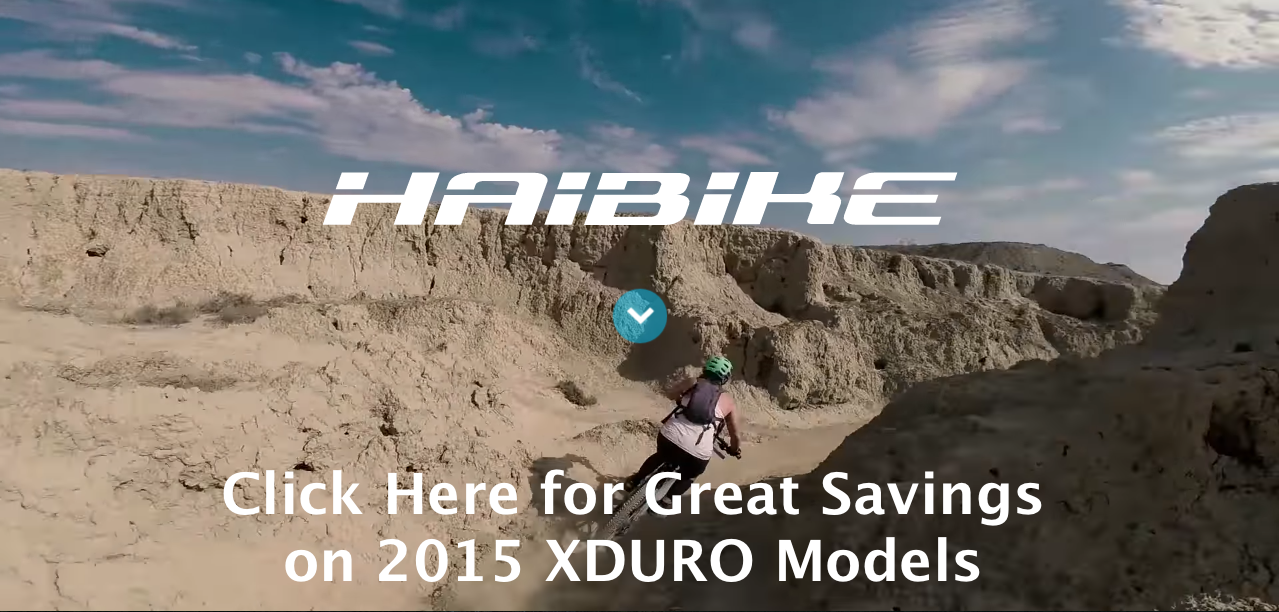Click Here for Great Savings on 2015 Haibike XDURO Models