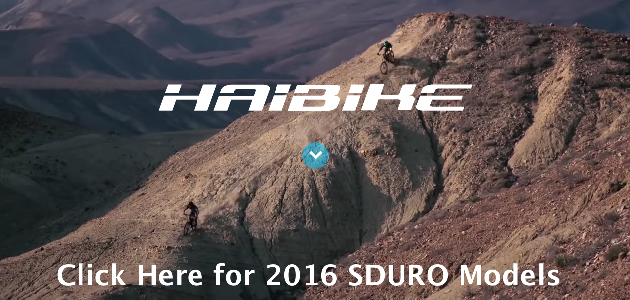Click Here for 2016 Haibike SDURO Models