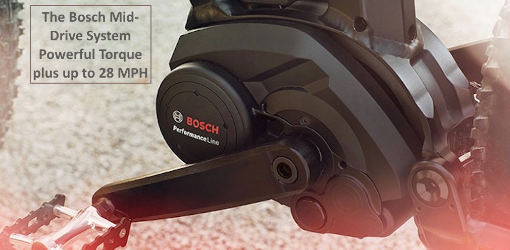 Electric Bikes with the Bosch Mid Drive System