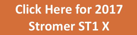 2017 Stromer ST1 X