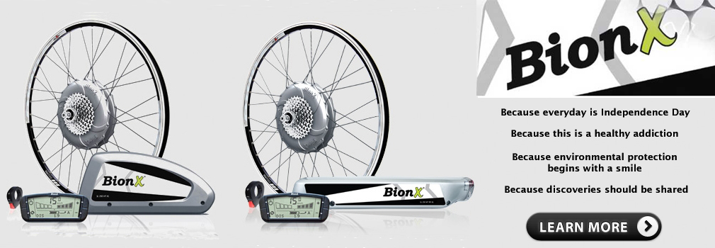 Check out these BionX Folding Kits