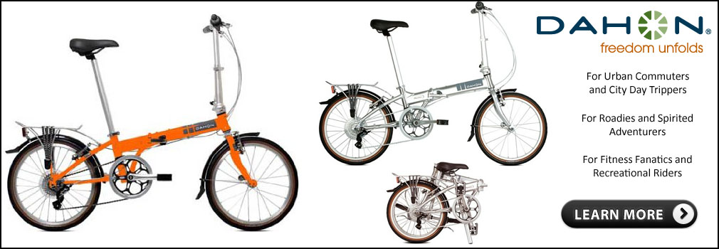 Look at these folding bikes!