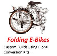 Electric Bikes - Folding